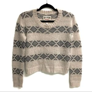 ARITZIA Tna Crew Neck Long Sleeve Sweater Wool XXS